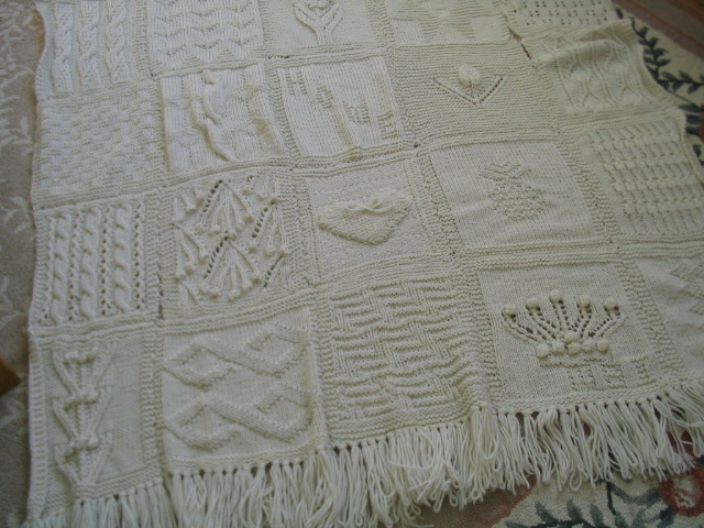 Knitting Pattern Sampler Afghan : My Knitting Life: Afghans